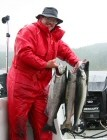 Pacific Rim Drift Charters - Terry with Derby Coho
